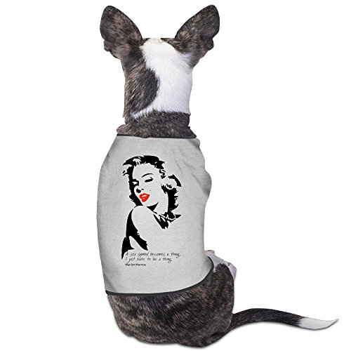PET-Cool Marilyn Monroe Wall Decals Poster Pet Dog Shirts. (Marilyn Monroe Dog Costumes)