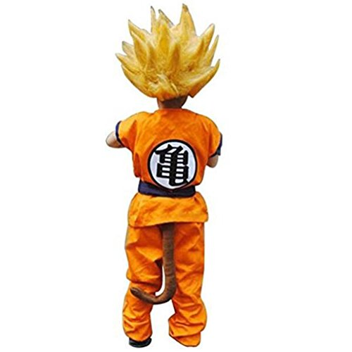 HOLRAN Dragon Ball Z Son Goku Saiyan Cosplay Costume Kids Adult Uniform