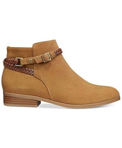 Caramel franny Boots Toe Closed Ankle Bernini Tan Fashion Giani Womens qxgzpwn7