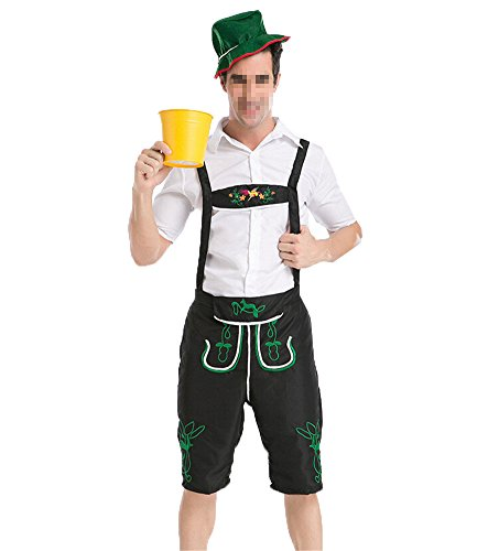[New Arrive Oktoberfest Costume Beer Festival October Dirndl Oktoberfest Men Beer Guy] (Bavarian Guy Adult Plus Costumes)