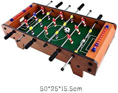 SZNWJ Mesa de futbolín Mesa- portátil Mini Futbolín Juego de fútbol /, sobre la Mesa Conjunto Puzzle Futbolín Máquina interacción Entre Padres e Hijos Sala de Juegos: Amazon.es: Hogar
