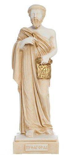 Greek Philosophers Series: Pythagoras Statue by AMA Epictetus