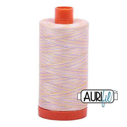 (Aurifil Mako Cotton Embroidery Thread 50wt 1422yds Variegated)