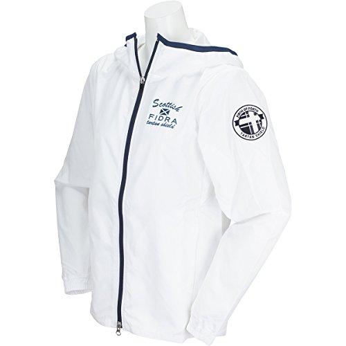 フィドラ FIDRA アウター(ブルゾン、ウインド、ジャケット) ジップフードジャケット レディス ホワイト L
