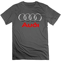 MAT Q VO Men's Audi Logo T Shirts/Tee