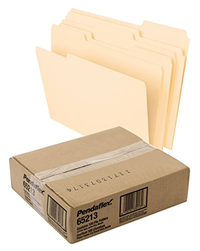 Large Product Image of Pendaflex File Folders, Letter Size, 8-1/2