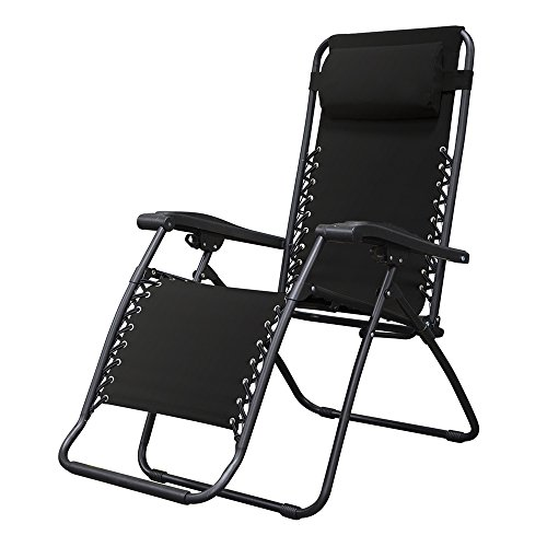 Caravan Sports Infinity Zero Gravity Chair, Black