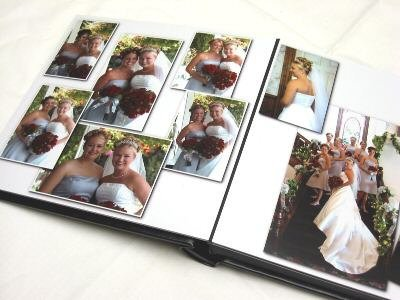 Professional 10x10 Self Mount Digital Photo Wedding Album 30 Pages