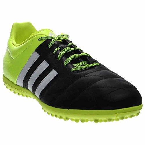 adidas Mens Ace 15.3 Leather Turf Soccer Shoes Black/Volt TlOd6beqpF