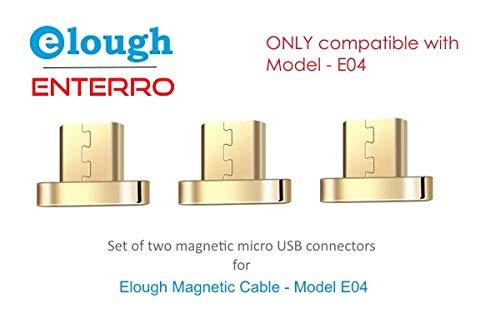 a91da687227 Elough Enterro Model-E04 Android Micro USB Connectors (3 Pieces) - Magnetic  Connectors