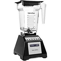Blendtec Total Blender Classic, with FourSide Jar, Black