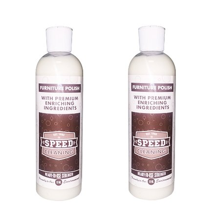 Speed Cleaning Premium Furniture Polish (12-oz.), 2 Pack