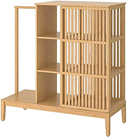 IKEA Nordkisa 304.394.76 Armario abierto con puerta corredera ...