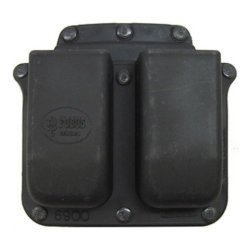Pouch Belt Fobus - Fobus 6900BHMP Belt 2 Mag Pouch for S&W M&P 9mm/.40 Cal ( Double Stack Mags )