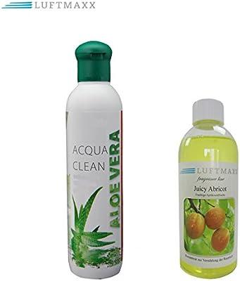 Aroma plástico Aloe Vera 250 ml + Aire Maxx Jucy abricot 100 ml ...
