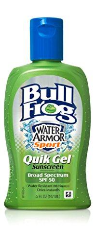 Bull Frog Land Sport Quik Gel Sunscreen, SPF 50 5 fl oz (147 ml) by Bull Frog