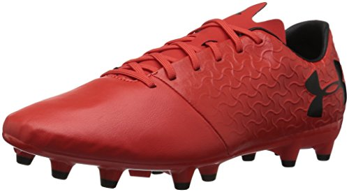 Under Armour Men's Magnetico Select FG Soccer Shoe, 600/Radio Red, 7