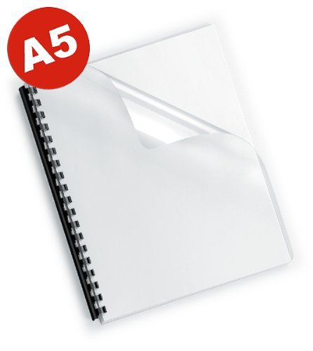 100 Deckelfolien DIN A5 , transparent-klar, 200mic FALAMBI / BestPreisArtikel