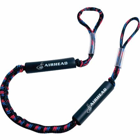 Airhead Bungee Dock Line 6 Feet for Boats, Cleats, Docks, Pylons and Other...