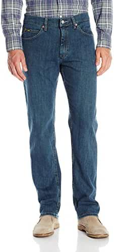 Lee Men's Regular-Fit Stretch Jeans