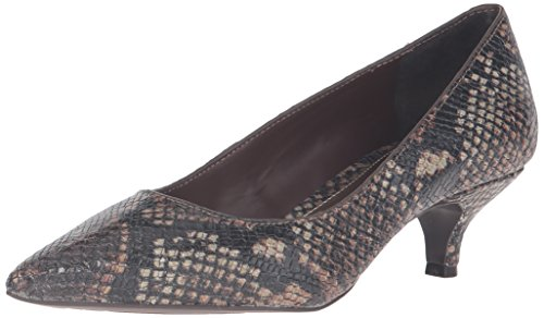 Lauren Ralph Lauren Women's Abbot Dress Pump, Brown, 8.5 B US