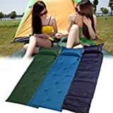 Sleeping Pad Mat Air Sleeping Mat - 183x57x2.5cm Self Inflatable Air Mattress Camping Moisture Proof Pad Sleeping ( Camping Sleeping Mat)
