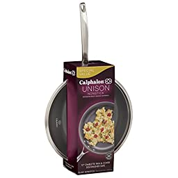 Calphalon Unison Slide Nonstick 12-Inch Covered Omelette Fry Pan