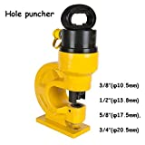 CH-60 Hydraulic Hole Punching Tool Puncher Iron Metal Copper Hydraulic Tools Punch Driver Hole Making Tool