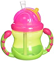 Nuby Super Spout Easy Gripper Cup, 10 Ounce, Colors May Vary (Discontinued by Manufacturer)