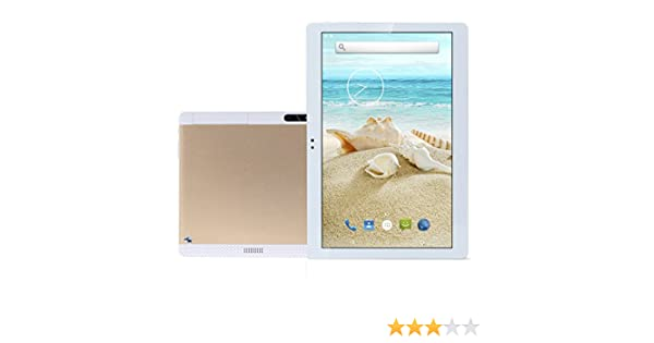 Amazon.com : 10.1 Inch Tablet PC Android 7.1 Octa Core 4G RAM 64G ROM WiFi GPS 7 8 9 Dual sim Card Phone Call Tablets Pc HD high Definition Gold Bestenme ...