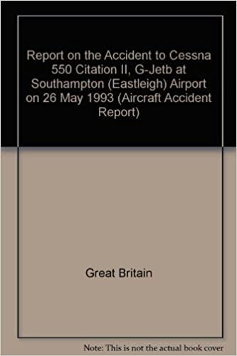 Report on the Accident to Cessna 550 Citation II, G-Jetb at Southampton (Eastleigh) Airport on 26 May 1993 (Aircraft Accident Report)