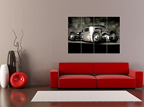 PANEL ART PRINT SPORT CAR AUTOMOBILE PHOTOGRAPH GRAPH CLASSIC HOT ROD COOL REPRODUCTION POSTER - Rod Graph