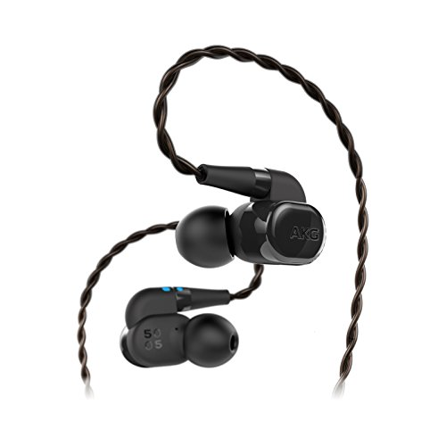 AKG N5005 Reference Class 5-driver Configuration In-Ear Headphones with Customizable Sound US Version , Black – GP-N505HAHHAAA