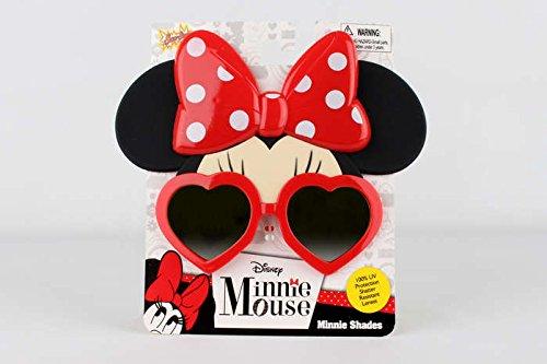 Sun-Staches - Minnie Reflective - Minnie Mouse Sunglasses