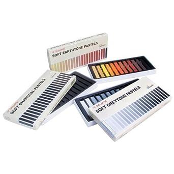 Royal /& Langnickel Grey Tone Soft Pastels Pack of 12