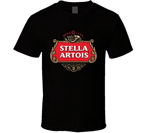 stella-artois-beer-t-shirt-m-black