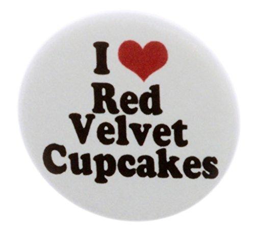 I Love Red Velvet Cupcakes 2.25
