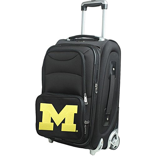 NCAA Michigan Wolverines 21-Inch Carry-On by Denco