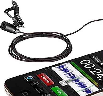 DSLR Recorder,Camcorders BOYA by-M1 3.5mm Lavalier Condenser Microphone with Windscreen Windshield for Smartphones