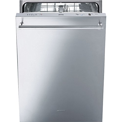Smeg 24'' Fully Integrated Dishwasher with Stainless Steel Door, 13 Place Settings, 5 Wash Cycles