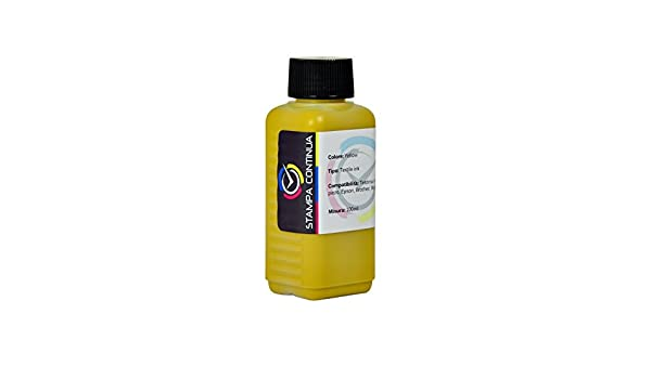 Tinta sublinova Yellow 100 ml Compatible con Cartuchos Epson 1281 ...