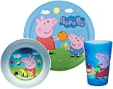 Zak Designs Peppa Pig Kids Dinnerware Set Includes