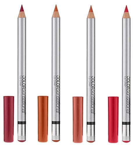 Maybelline New York ColorSensational Lip Liner – 4 Set