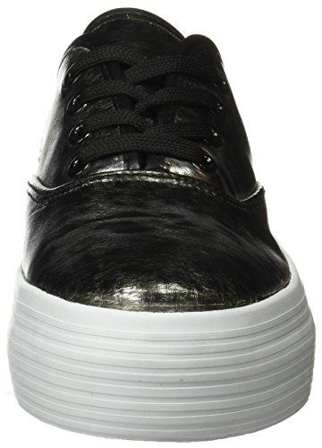 BEPPI Canvas 2148680, Zapatillas de Deporte Para Mujer Negro (Black)