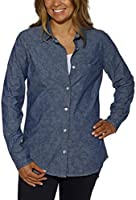 Weatherproof ® Vintage Ladies' Long Sleeve Shirt-Denim, Small