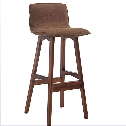 Awesome Amazon Com Msjiao Solid Wood Bar Chair High Chair Lounge Beatyapartments Chair Design Images Beatyapartmentscom