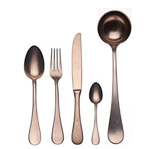 Mepra Vintage 1098VI22049 Dolce 49 Pcs Kitchen Set - Silver Tableware, Dishwasher Safe Cutlery (B00GX8T8R4) | Amazon price tracker / tracking, Amazon price history charts, Amazon price watches, Amazon price drop alerts