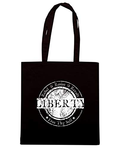LIBERTY RESIST Nera REVOL TM0619 Shopper Borsa REBEL qFvggx