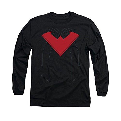 Batman DC Comics Nightwing 52 Costume Adult Long Sleeve T-Shirt Tee]()