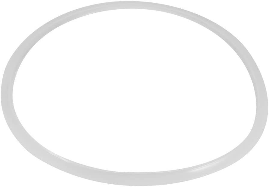 Fdit Replacement Clear Silicone Gasket Sealing Ring for Home Pressure Cooker Kitchen Tool(Diameter 11.8inch)